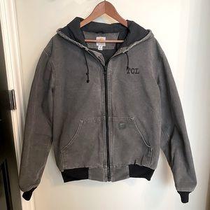 Carhartt Grey Hooded Jacket